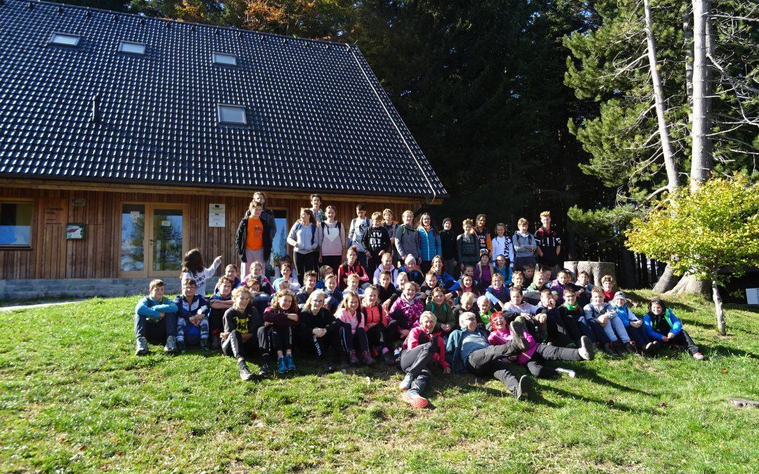 Naravoslovni tabor na Pohorju – 8.r