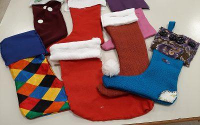 Rabljena Božičkova nogavica
