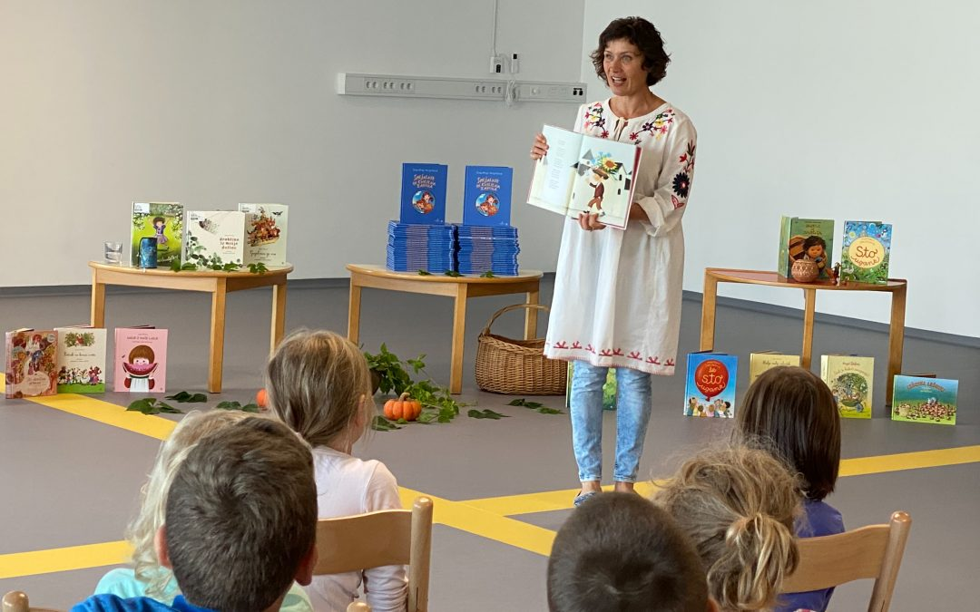 Anja Štefan obiskala naše prvošolce