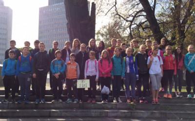 Žirovski osnovnošolci skupno 5. na Ljubljanskem maratonu
