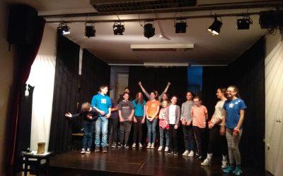 Premierna predstava impro igre v Ljubljani