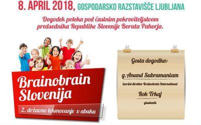 USPEH UČENKE LANE  NA 2. SLOVENSKEM BRAINOBRAINFESTU 2018